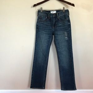 Abercrombie and Fitch Boys Straight Leg Jeans